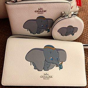 Coach Bags - Coach Disney X Dumbo Trio of Cases. New!